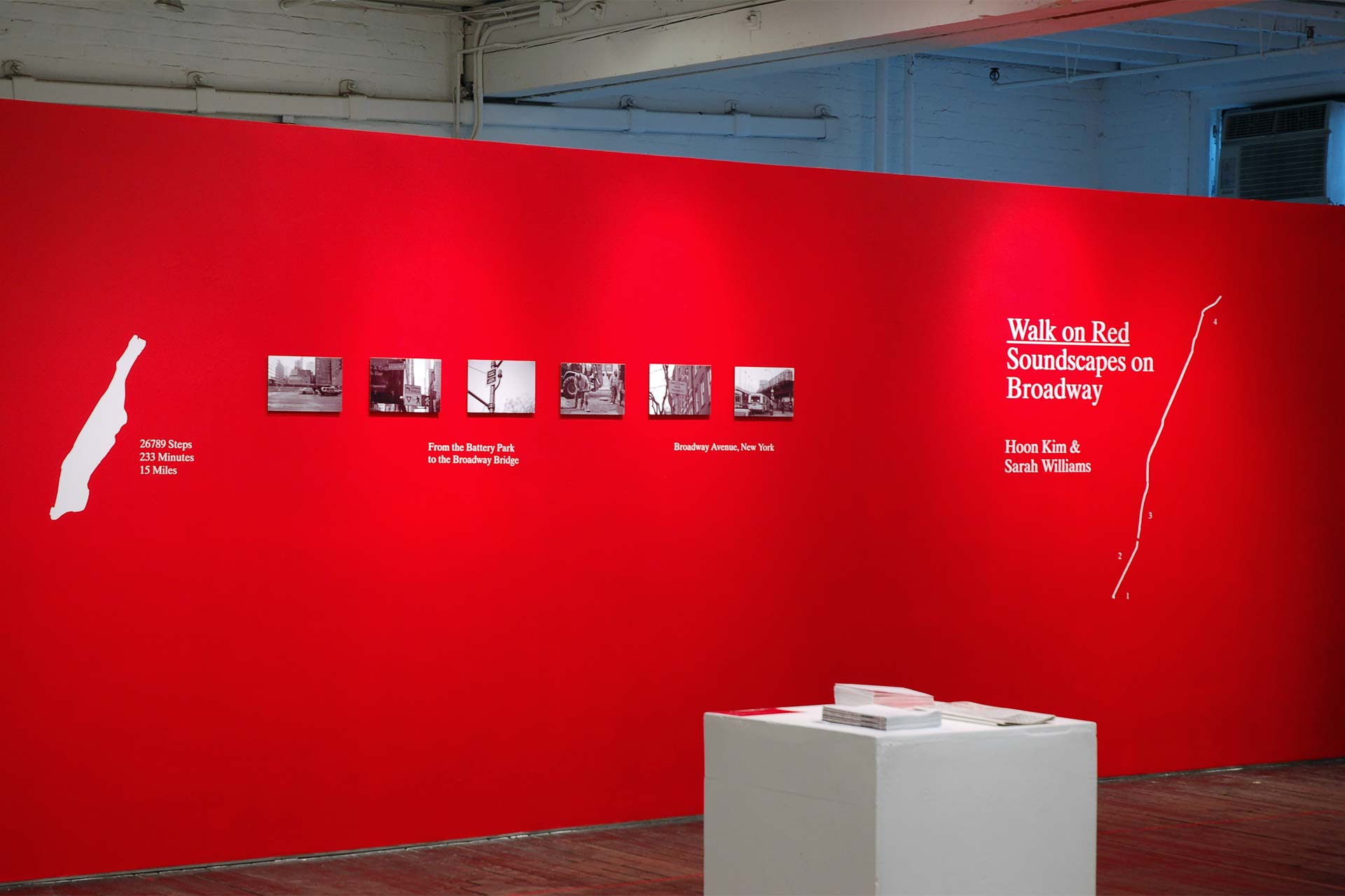Walk on Red Exhibition